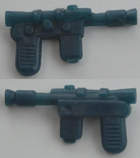"NICE 1/"" REPRO BLUE Han Solo Weapon 1980 Luke Bespin Vintage Star Wars FLOATS A"
